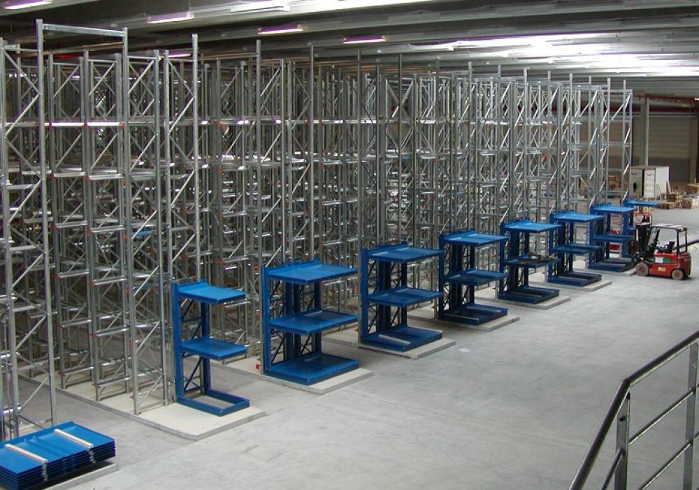 Einplatzregalsystem